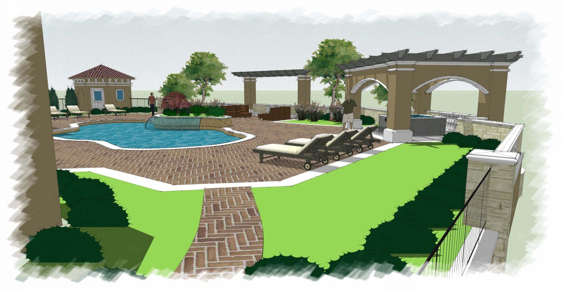 cliff drive garden design and architecture