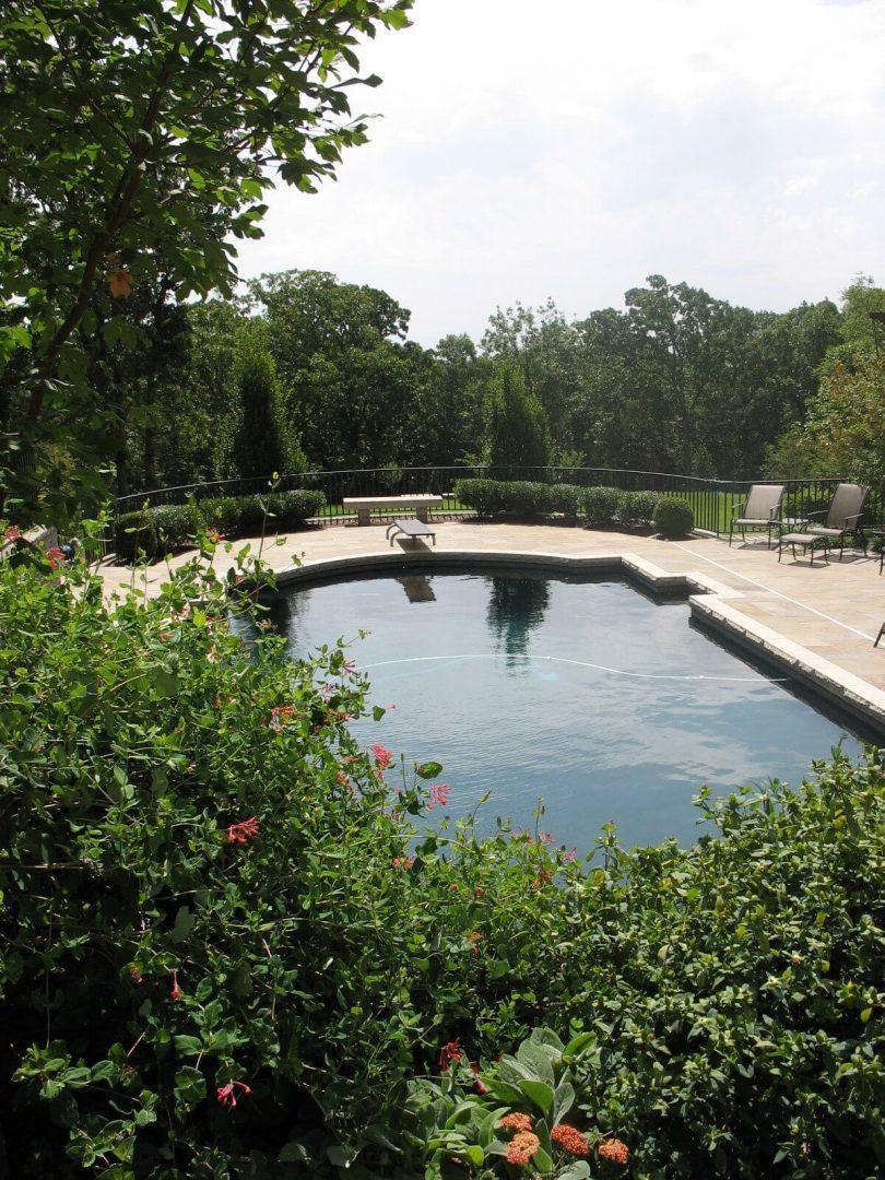 Canterbury pool landscape design