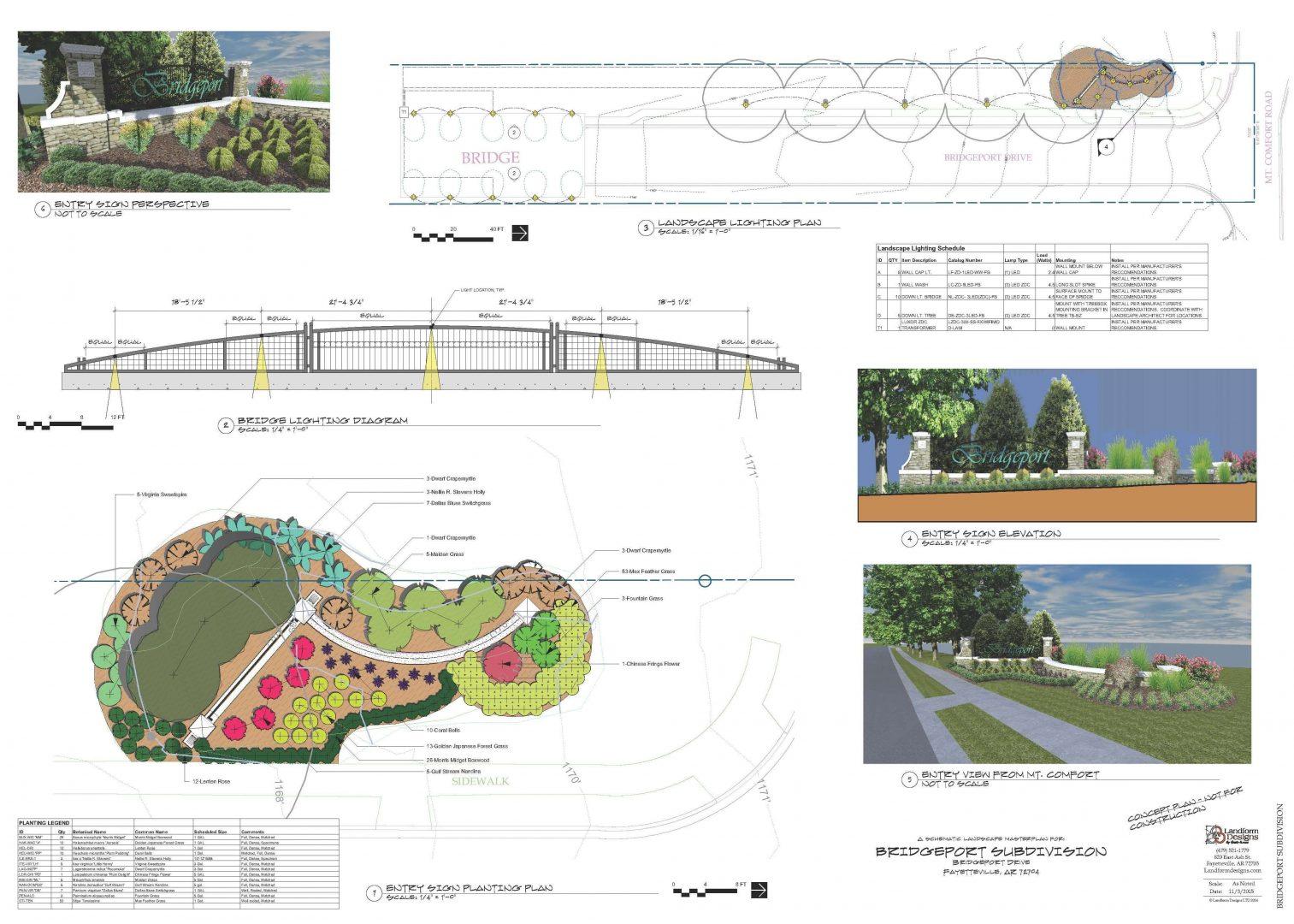 Institutional landscape design Bridgeport