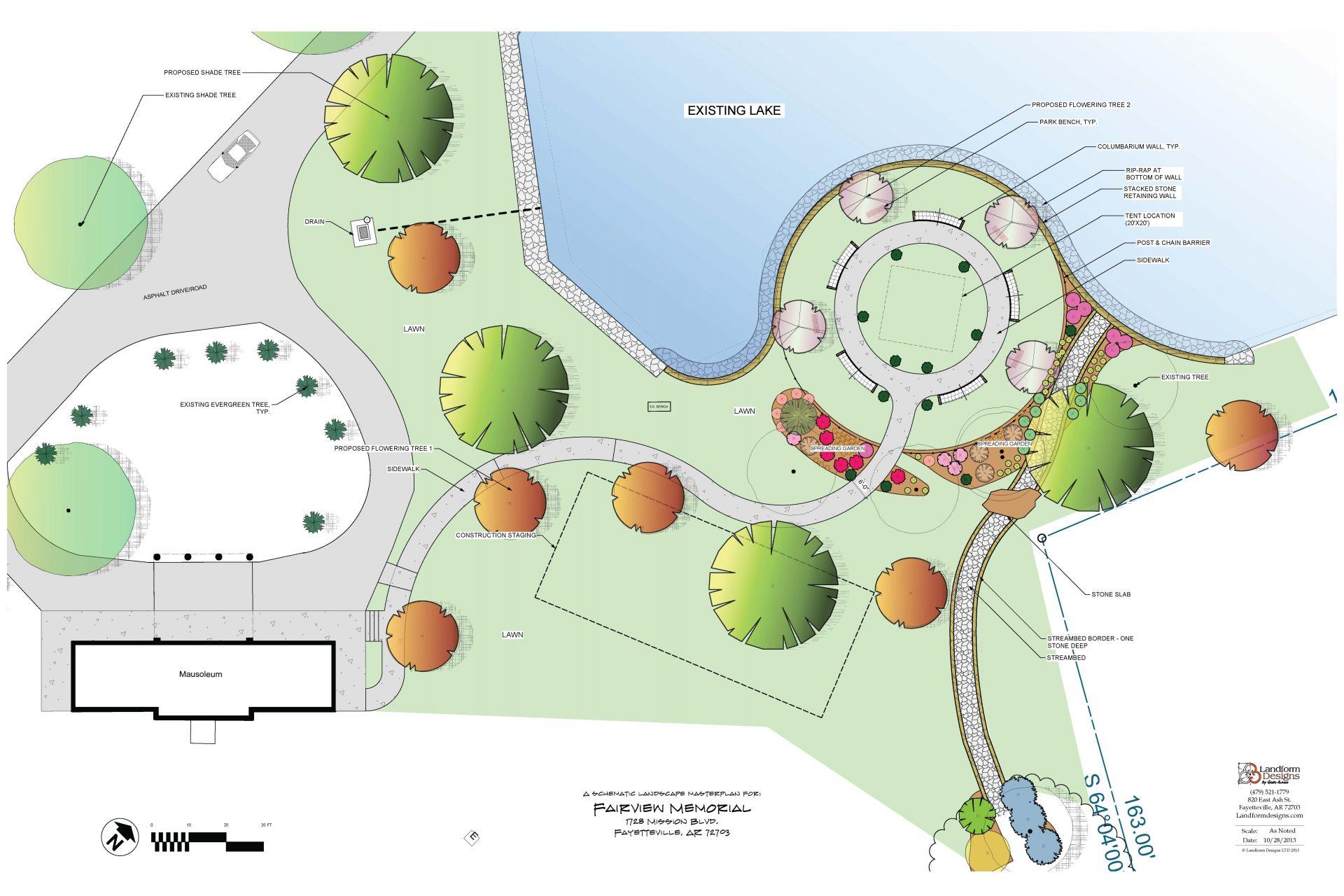 fairview cemetery masterplan 2