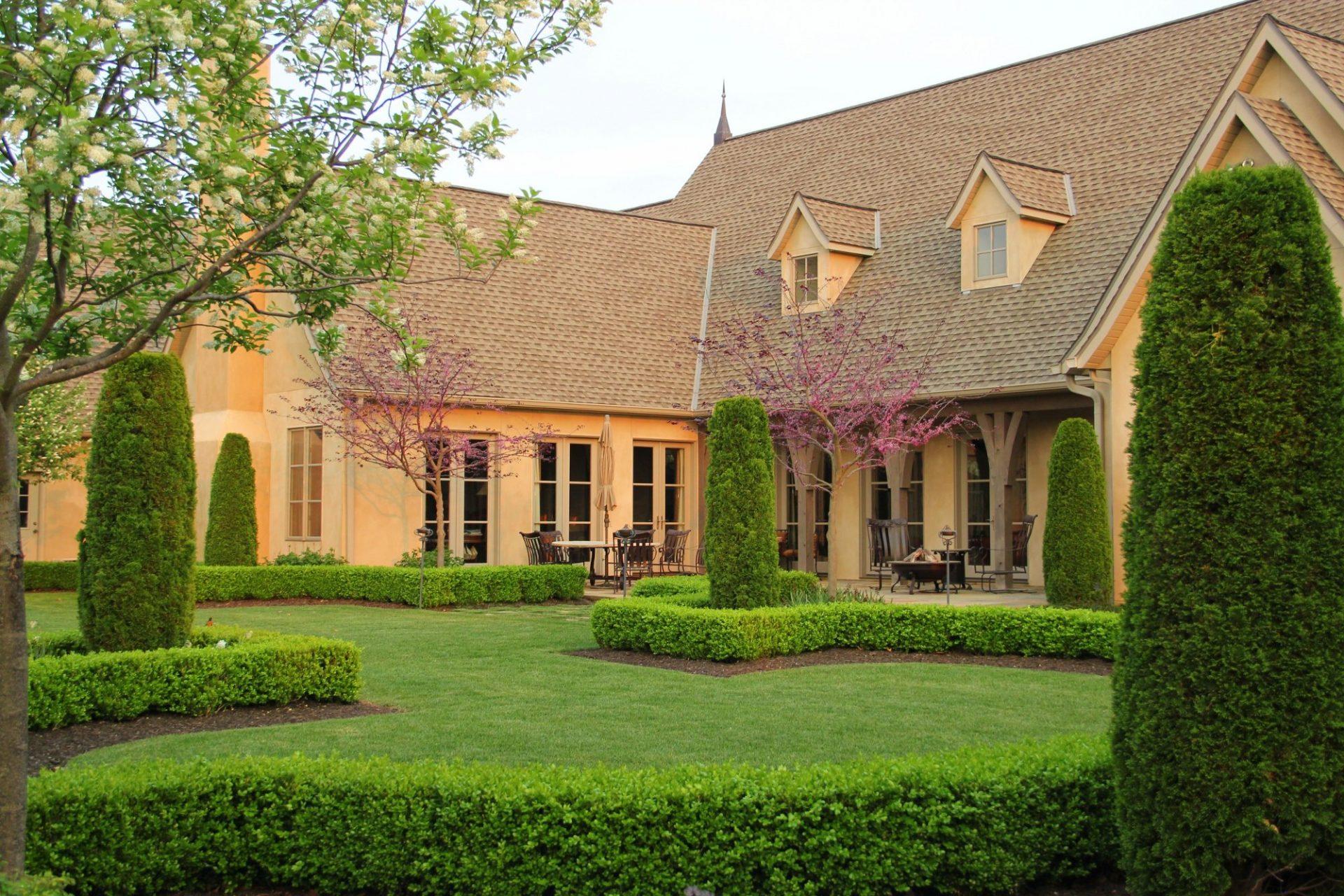 Pinnacle drive garden view garden design architecture arkansas missouri