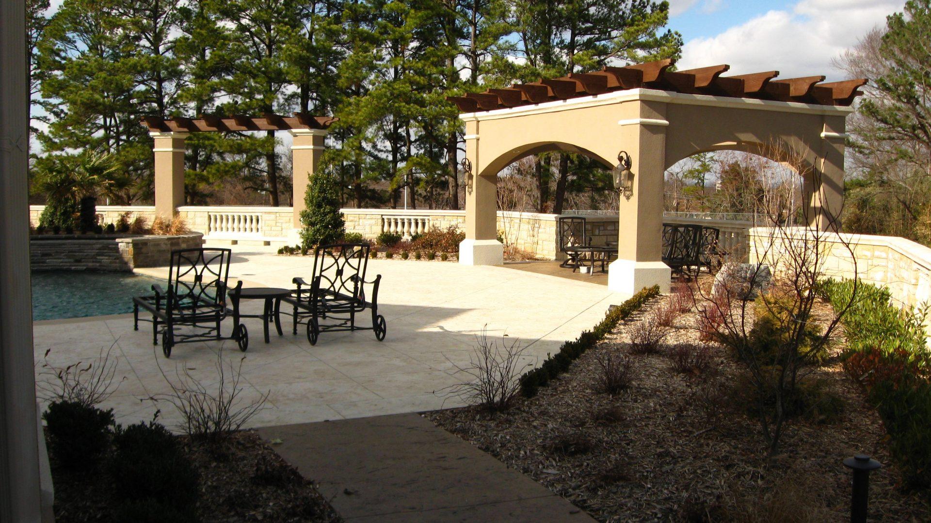 garden design cliff drive residential