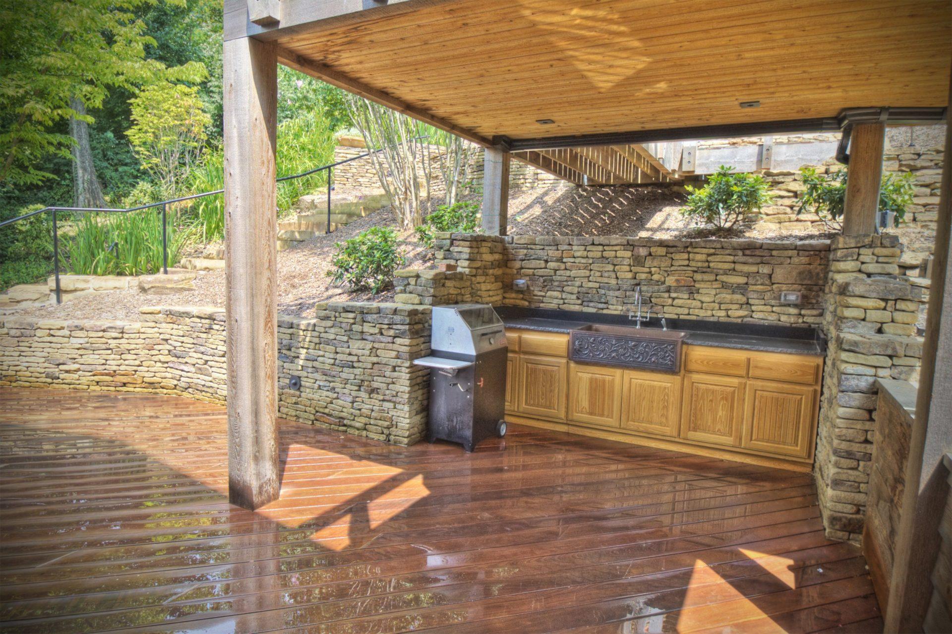 grill patio garden design