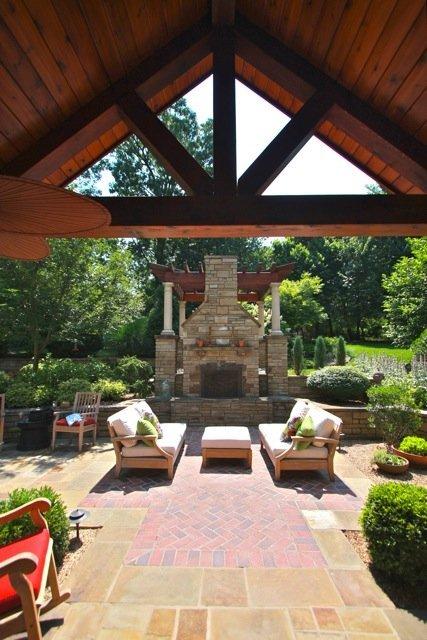 fireplace huntington garden design architecture arkansas missouri
