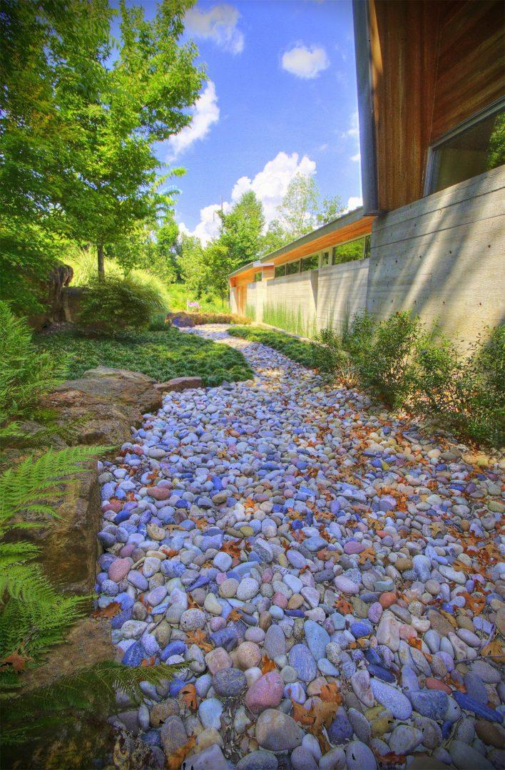 rock bed kestral harscape design residential
